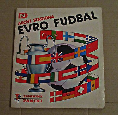 Euro Footbal (Evro Fudbal), 1976 - Panini - Complete Album - Almost Perfect!!!
