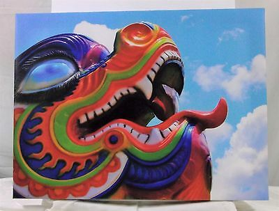 Dragon Art Canvas Print One Of A Find Signed Artwork