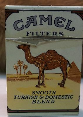 Vintage Camel Filters Hard Pack Cigarette Lighter Made by SCRIPTO-TOKAI