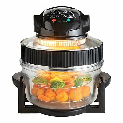 Halogen Convection Oven Air Fryer Cooker Low Fat Multi Function Electric Healthy