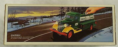 1985 First Hess Truck Bank New In Box