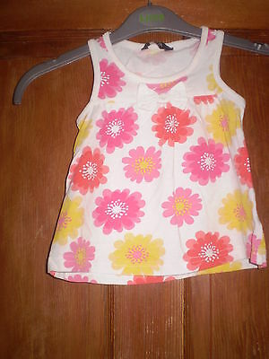 George white vest top & a pink vest Size 11/2-2yrs