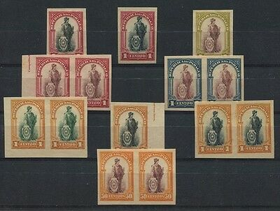 PARAGUAY old ESSAY PROOF LIBERTY WOMAN STAMPS # 56133