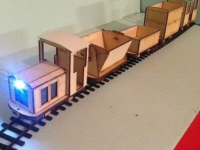 A Complete Industrial Railway Set. Two Trains