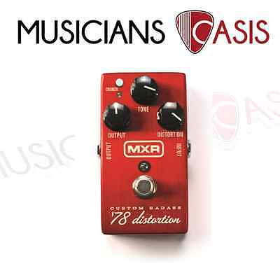 BRAND NEW MXR Custom Badass 78 Distortion Guitar Pedal Limited Edition M78