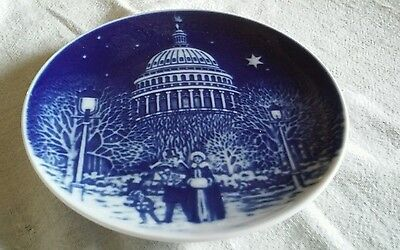 Bing and Grondahl Copenhagen1990 Christmas plate