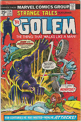 Strange Tales # 174 - 177, The Golem