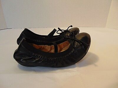 Nordstrom's Toddler Girls Leather Patent Ballet Flats Size 10M