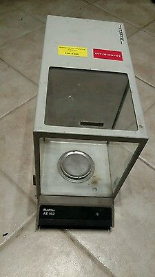 Mettler AE 163 Microbalance Scale Tested