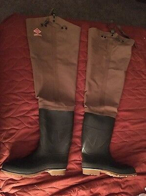 Men's Red Ball Insulated Hip Wader's Hunting Fishing Boots Size 11