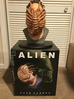 Palisades Life Size Alien Face Hugger 1:1 Scale Bust Very Rare#32 Of 250