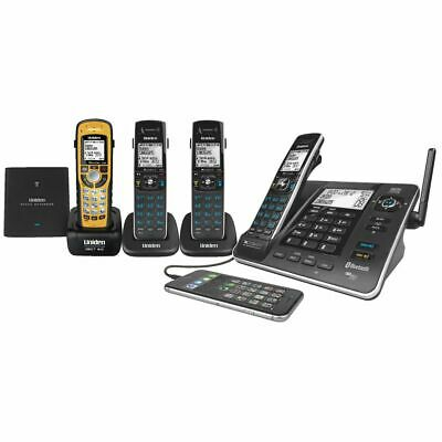 Uniden Cordless Phone with 4 Handsets 8355+3WP
