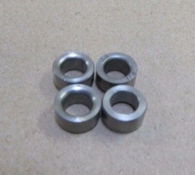 "1//4/"" ID x 7//16/"" OD x 3//8/"" TALL STAINLESS STEEL STANDOFF BUSHING SPACERS 8pc."