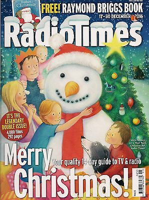 Radio Times Magazine Legendary 2016 Christmas Double Issue Dr Who Peter Capaldi