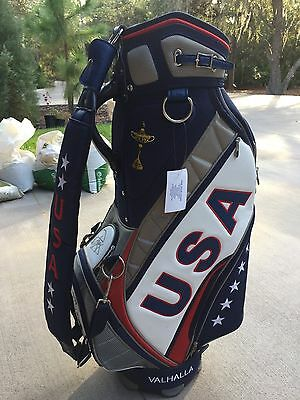 PAUL AZINGER 2008 RYDER CUP SIGNED GOLF BAG VALHALLA NEW & Ryder Cup Nike Polo