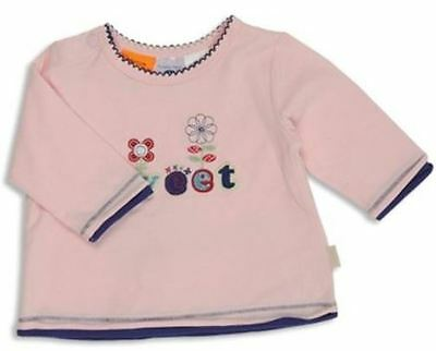 PUMPKIN PATCH BABY GIRL Cotton Long Sleave Applique Top Size 3-6m BN RRP $19.99