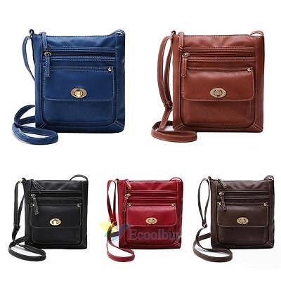 Women Lady Leather Handbag Shoulder Bag Tote Purse Messenger Satchel Crossbody