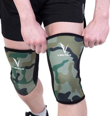 Compression Knee Sleeve 5mm Neoprene heavy duty for Weightlifting or any workout