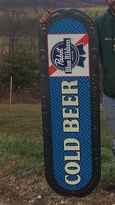 Huge Pabst Blue Ribbon Sign New