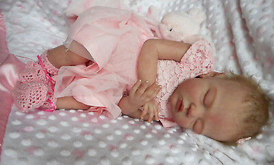 GORGEOUS Reborn Baby GIRL Doll- HARLEY by MELODY HESS -SOLD OUT- FULL LIMBS