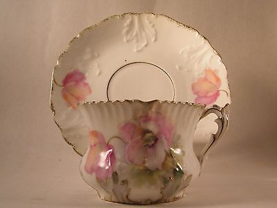 Rs Prussia Schlegelmilch Cup And Saucer With Red Mark
