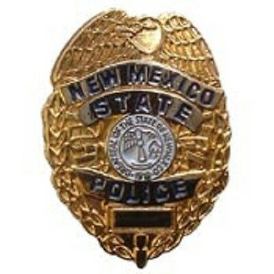 NEW MEXICO STATE POLICE mini badge HAT PIN