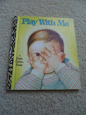 Little golden book, PLAY WITH ME.