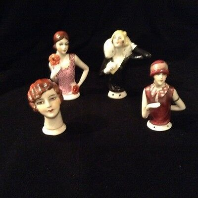 half doll antique/flappers