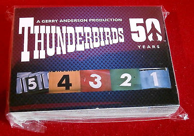 THUNDERBIRDS 50 Years - COMPLETE BASE SET of 54 cards - Unstoppable