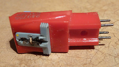 seeburg  red stereo cartridge with needles
