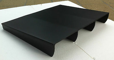 Diffuser, rear lower bumper under body spoiler - UNIVERSAL* race style (ii)