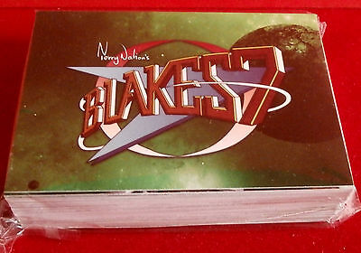 "BLAKE'S 7 - COMPLETE ""Green Series"" BASE SET of 54 CARDS - Unstoppable"