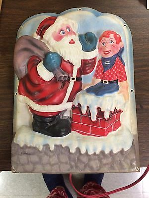 Vintage Howdy Doody Christmas Light Up Royal Electric Company