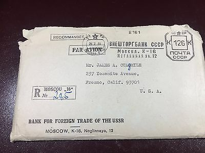 (Super Rare!) Two 1965 Mint Sets in original Moscow Russia mailing envelope