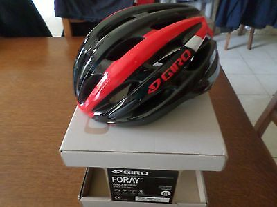 casque giro forey mips rouge-noir taille m neuf 2016