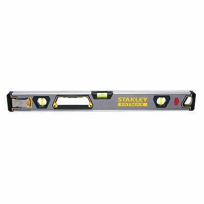 STANLEY FATMAX Tools FMHT42400 48-Inch Premium Box Level with Hook, Non-Magnetic