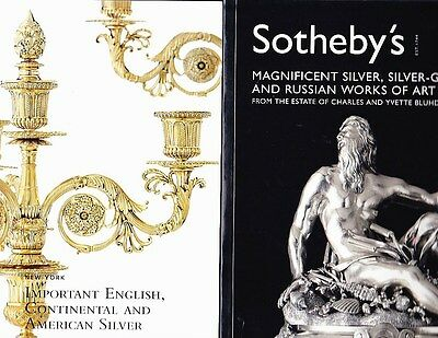 Sotheby's Christie's SILVER American English Continental Russian*2 Br.NewCtlogs