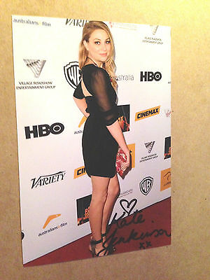 Kate Jenkinson SIGNED 4x6 photo WENTWORTH PRISON AUSTRALIAN TELEVISION ALLIE #4