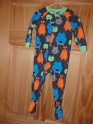 Lot 9 Child of Mine by Carter's Size 18M Infant Boy Footed Sleepers NWOT