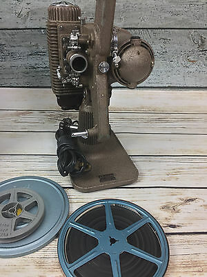 Vintage 1940's Revere Eight 8mm Film Movie Projector with Original Case