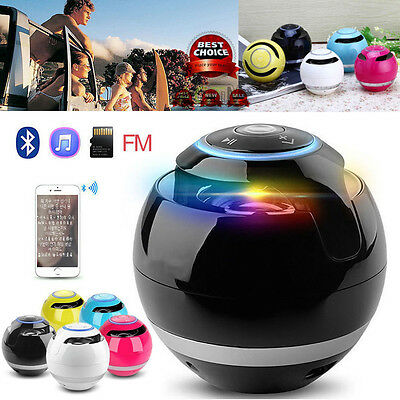 Portable Wireless Super Bass Stereo Bluetooth Speaker for iPhone Samsung Tablet