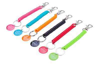 Retractable Spring Elastic Rope Security Gear Tool Anti-lost Phone Keychain