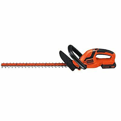 BLACK + DECKER LHT2220 22-Inch 20-Volt Hedge Trimmer