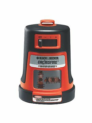 BLACK + DECKER BDL310S-CA Projected Crossfire Auto Level Laser