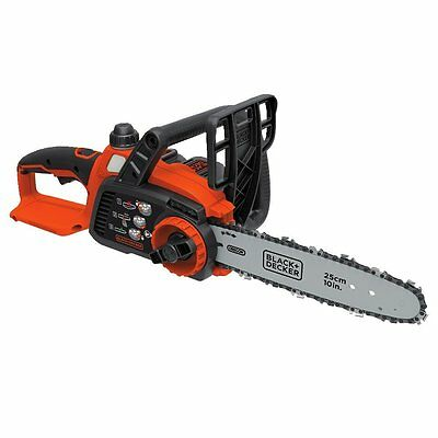 BLACK + DECKER 20V Max Lithium Ion Chainsaw (LCS1020) with Interchangeable Batte