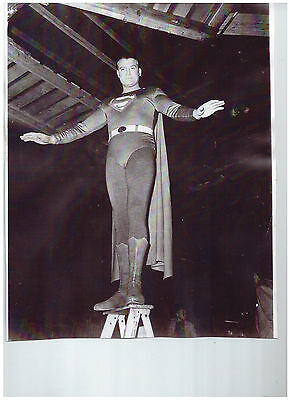 George Reeves Superman Vintage Photo 50s