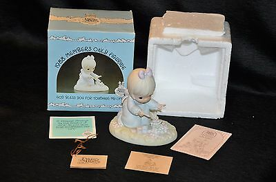 1988 Precious Moments PM-881 Members GOD BLESS YOU FOR TOUCHING MY LIFE Figurine