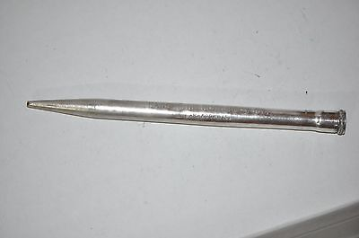 Vtg REDPOINT Mechanical Pencil Adv EXCELSIOR CREAMERY CO. BARABOO WIS Pat Pend