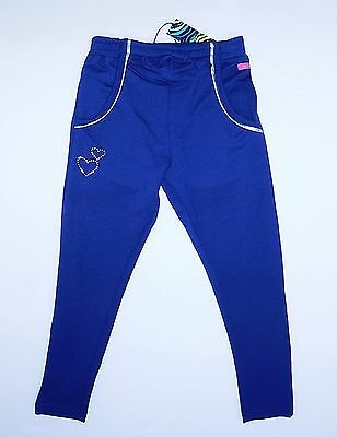 """BNWT """"ME TOO""""GIRLS DIAMANTE GEMS SILVER PIPING JOGGERS from DENMARK, AGE 6 YEARS"""