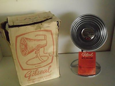 Vintage Boxed Gilseal Infra Red Heat Lamp Model 2 with instructions